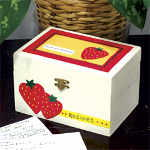Strawberry Recipe Box
