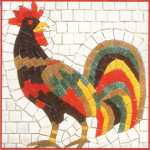 Kitchen Rooster Mosaic