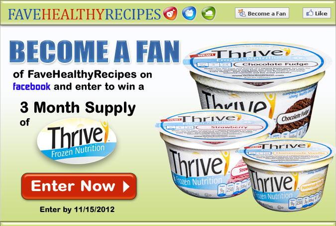 Thrive Frozen Nutrition